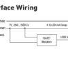 hart wiring for Ultrasonic Level sensor