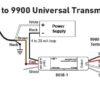 Ultrasonic level sensor Wiring to Universal tr